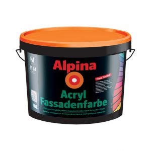 Alpina Acryl-Fassadenfarbe
